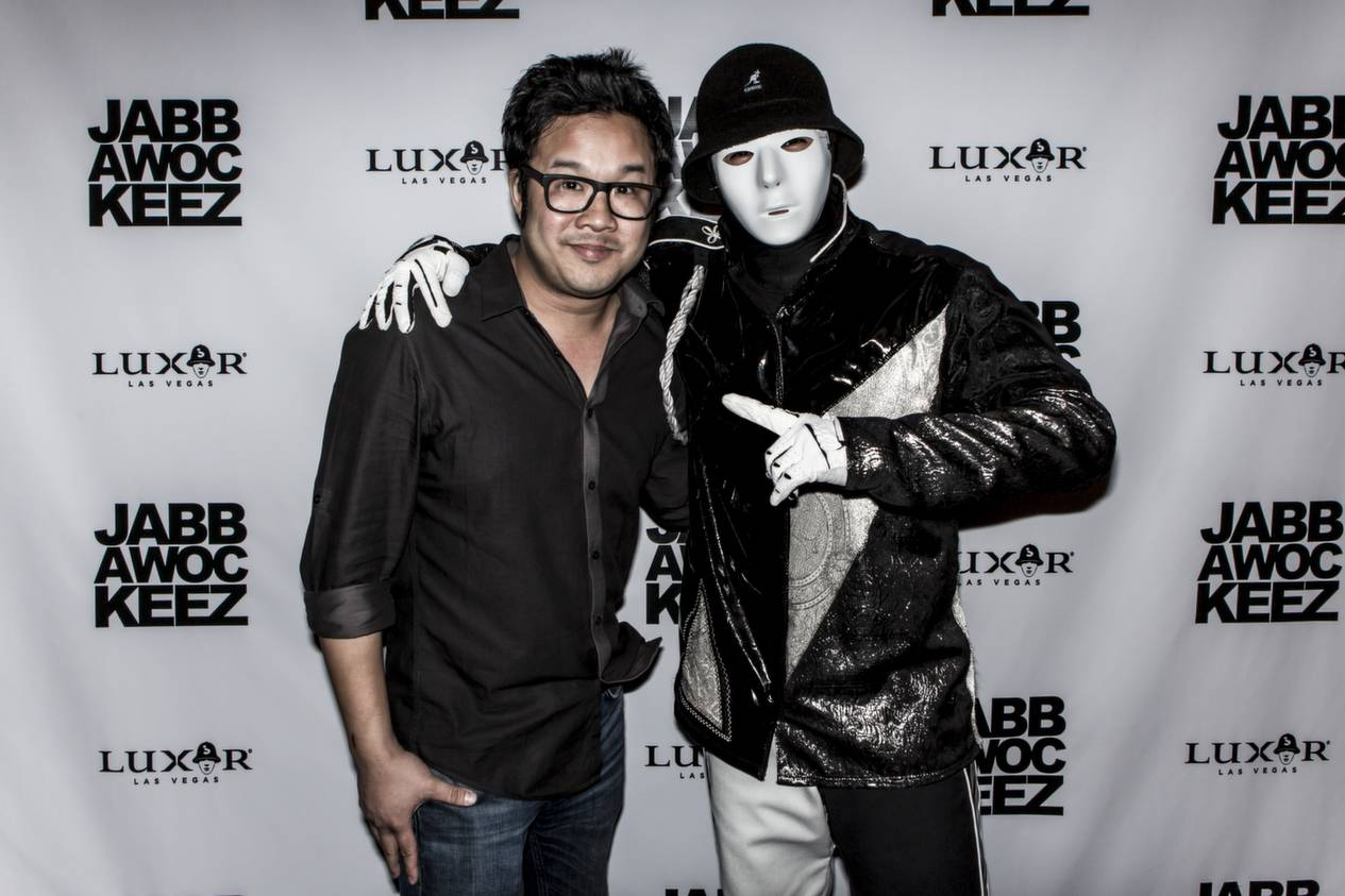 Kevin Tancharoen and Jabbawockeez Member_Photo Credit- Joshua Jose