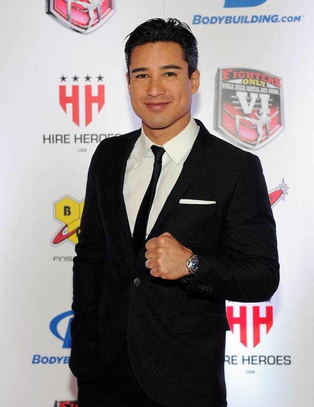 Mario Lopez. Photos: David Becker/WireImage