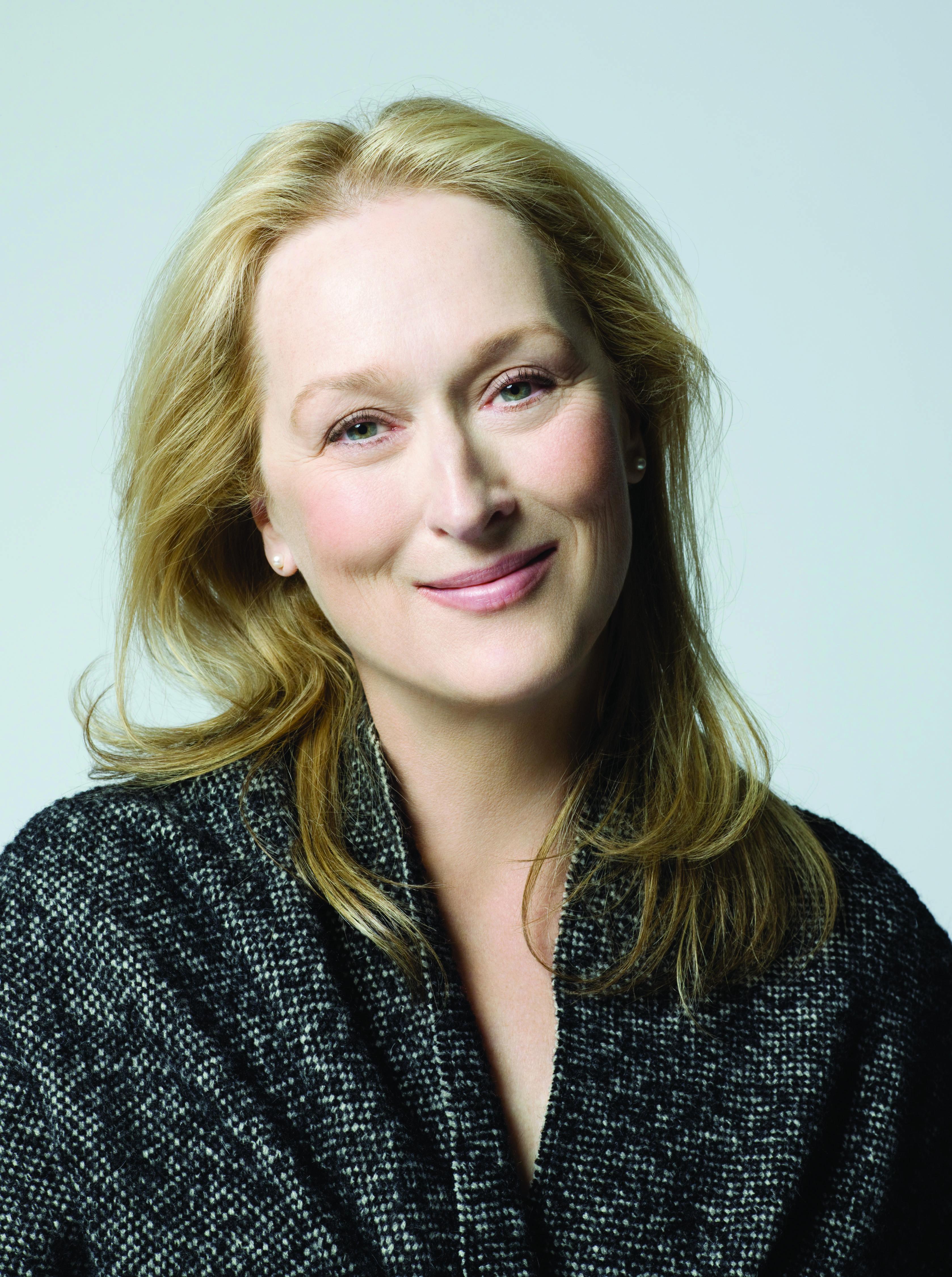 Meryl Streep Headshot -Credit  Brigitte Lacombe