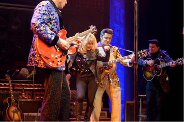 Pia Zadora in Million Dollar Quartet. Photos: Caesars Entertainment