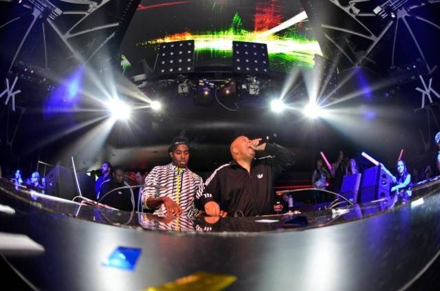 Rev Run and DJ Ruckus at Hakkasan. Photos: Al Powers/Powers Imagery LLC