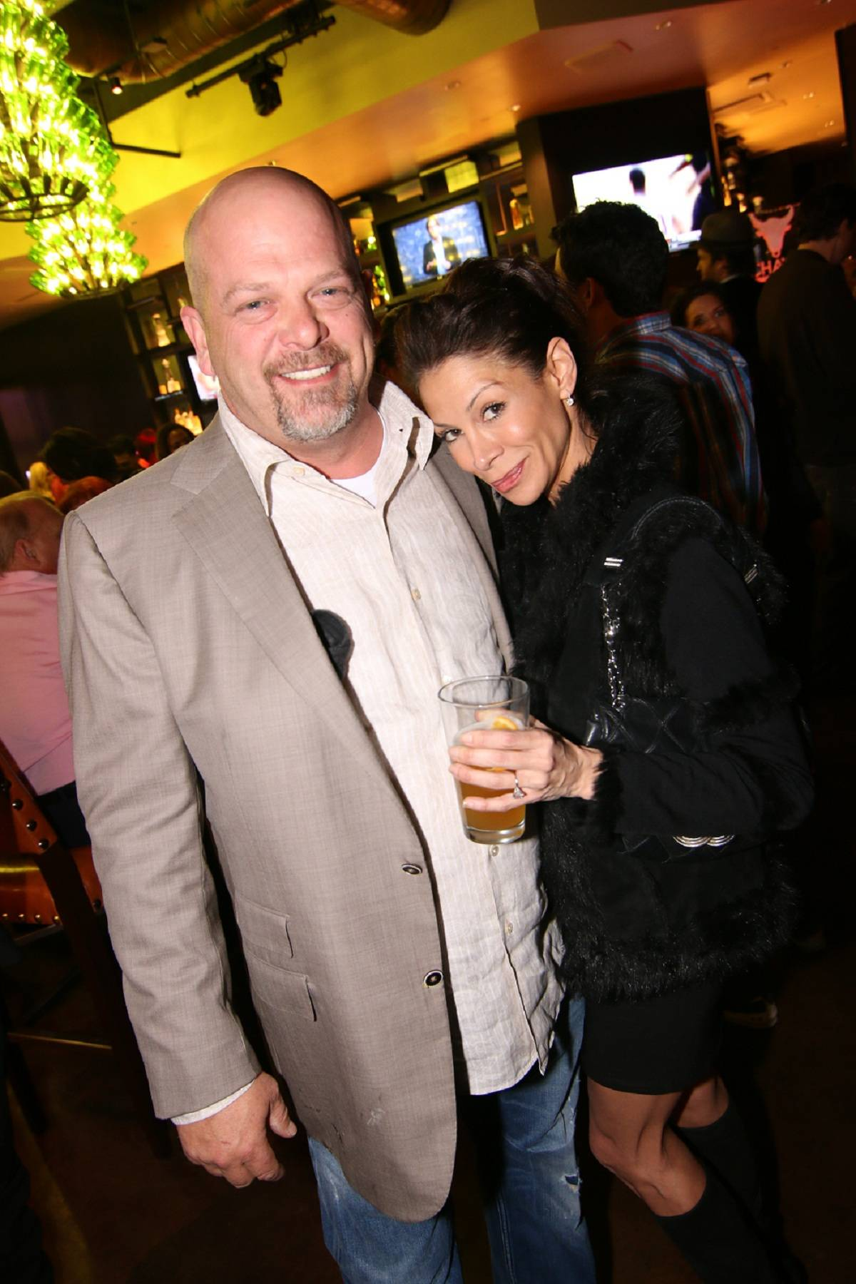Rick Harrison, Heather Bednarczyk_press