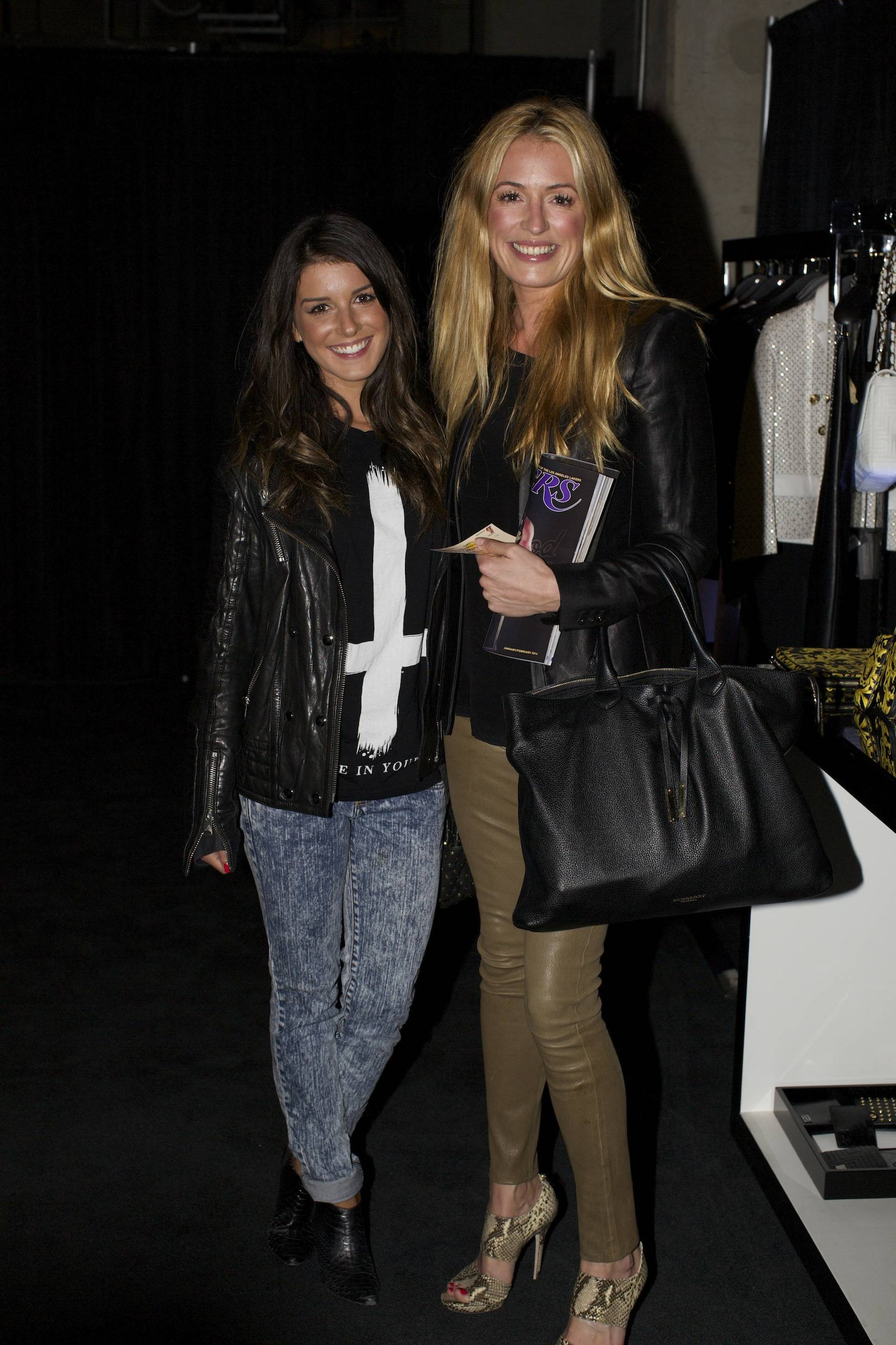 Shenae Grimes & Cat Deeley at the Versace Shopping Event benefiting the Lakers Youth Foundation & STAPLES Center Foundation