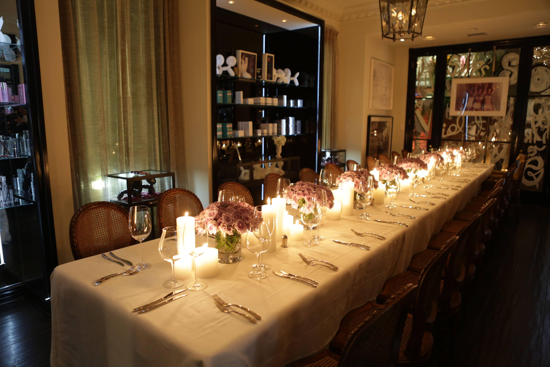 VioletGrey_She's So Violet Salon Dinner_Elizabeth Taylor_Atmosphere2