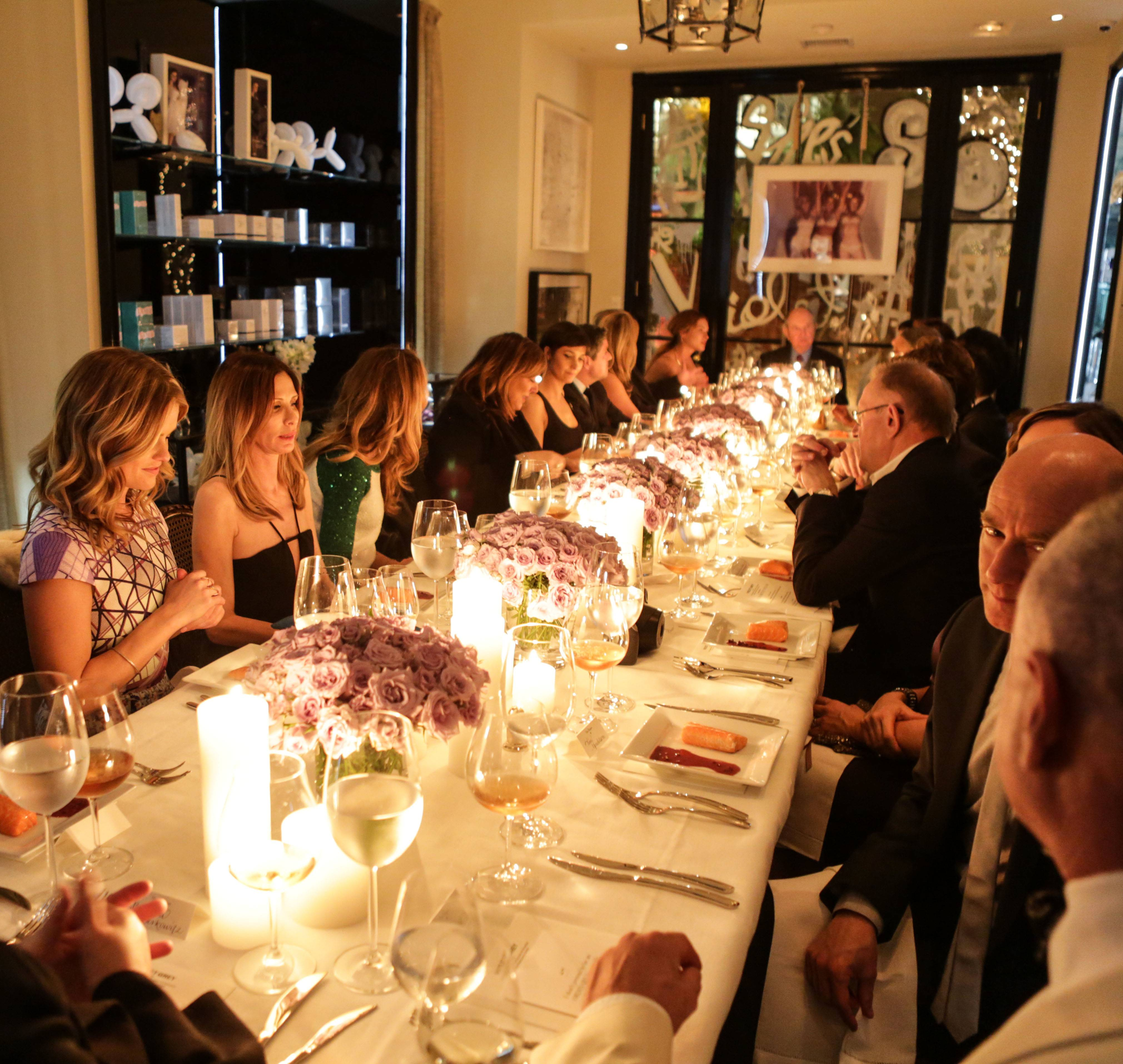 VioletGrey_She's So Violet Salon Dinner_Elizabeth Taylor_Atmosphere3