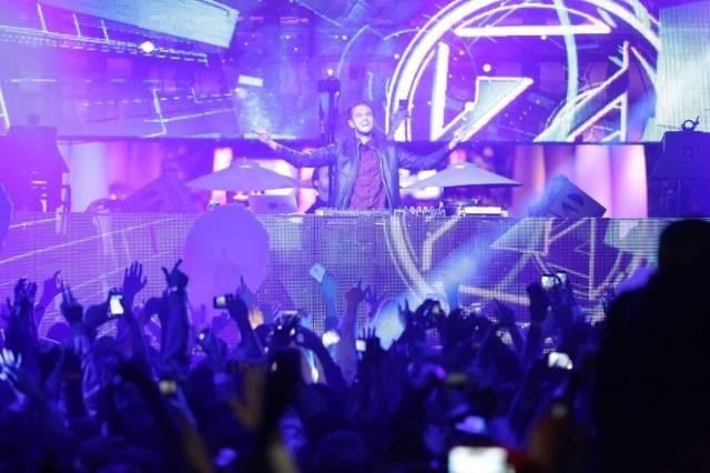 Zedd at XS. Photos: Danny Mahoney
