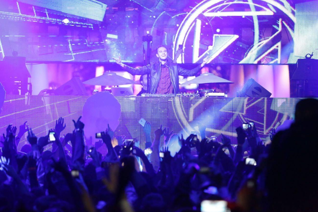XS – Zedd – photo credit Danny Mahoney