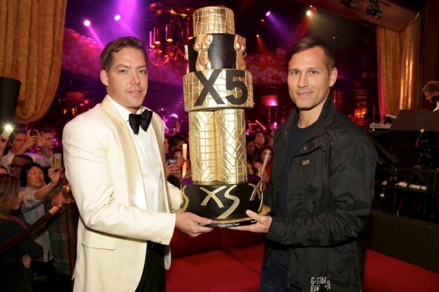 Jesse Waits and Kaskade at XS. Photos: Danny Mahoney