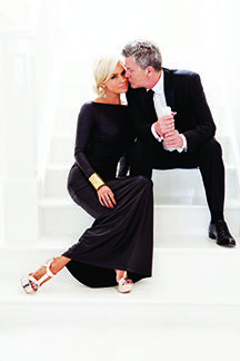 Yolanda Hadid and David Foster, credit Jim Jordan