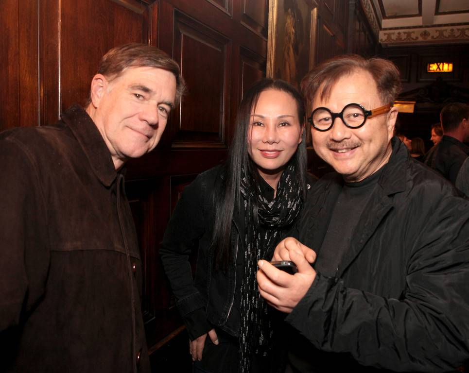 Gus Van Sant, Eva Chow, Michael Chow