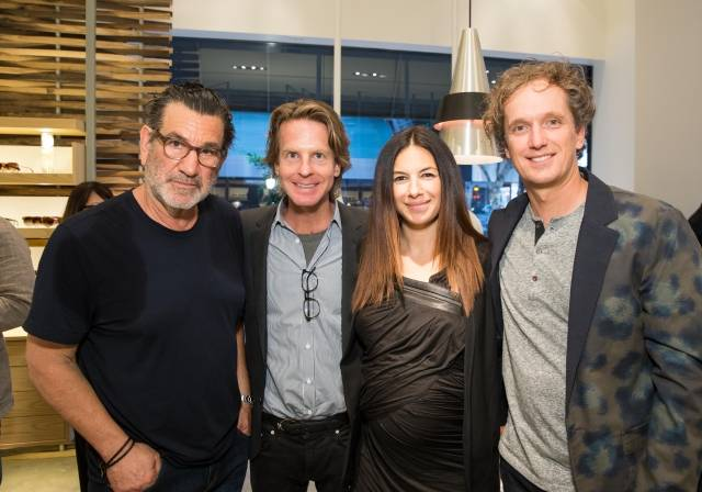Larry Leight, David Schulte, Sabrina Buell and Yves Behar  Credit: Drew Altizer Photography