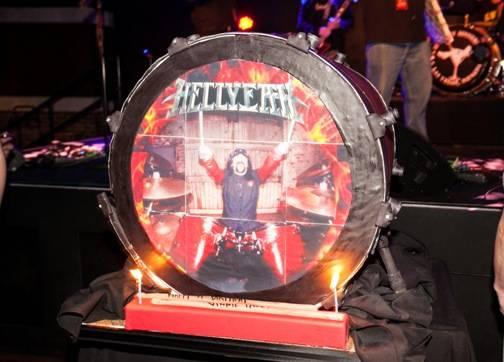 03.11_Vinnie Paul's birthday cake at Vinyl inside Hard Rock Hotel & Casino_Photo credit Chase Stevens