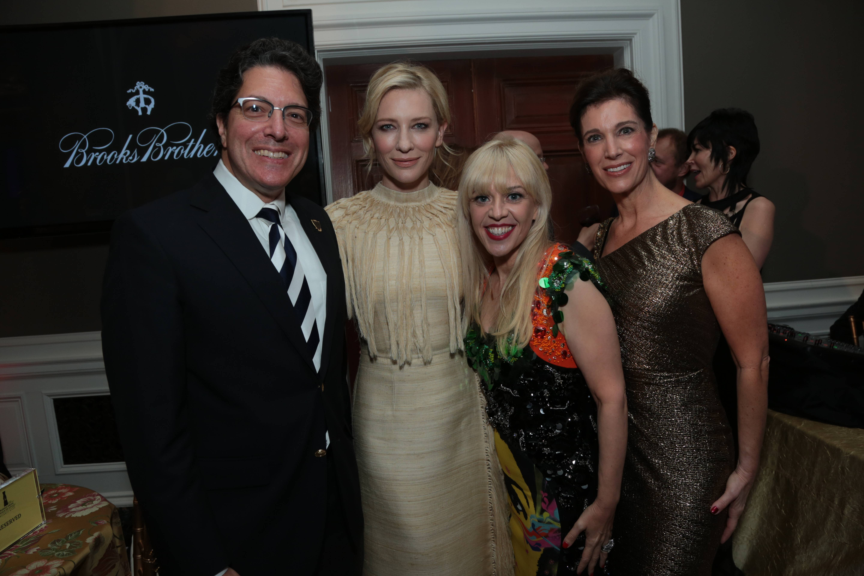 Mayor John A. Mirisch, Cate Blanchett, Catherine Martin, Peri Ellen Berne