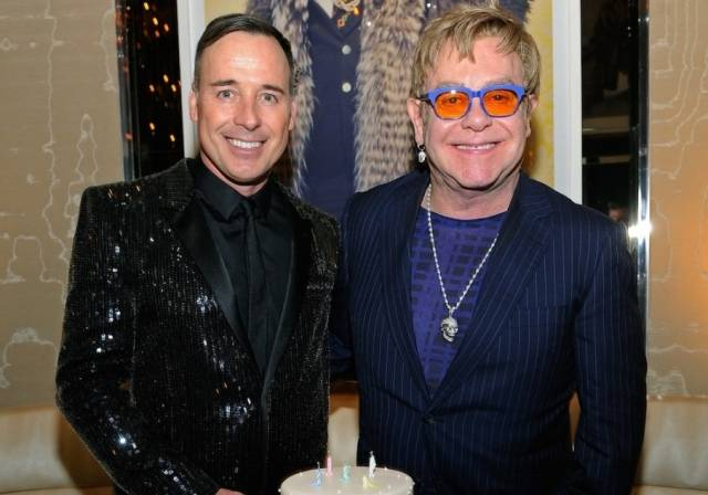 Elton John and David Furnish. Photos: David Becker/WireImage