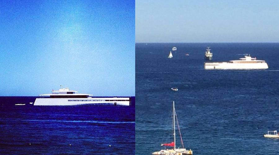 Venus In Portugal Late Apple Founder Steve Jobs 256 Foot Super Yacht Was Recently Sighted Mexicos Cabo San Lucas Bay