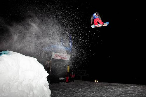 Kick Aspen Big Air. Photo courtesy of Aspen Skiing Co.