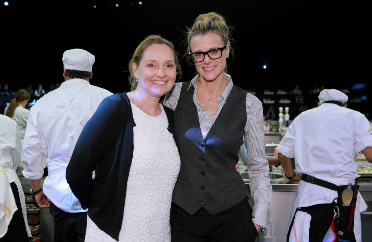ASCC Co-founders Lucy Lean and Krissy Lefebvre at L.A. LIVE's All-Star Chef Classic - All-Star Lunch_PhotoCredit_GettyImages