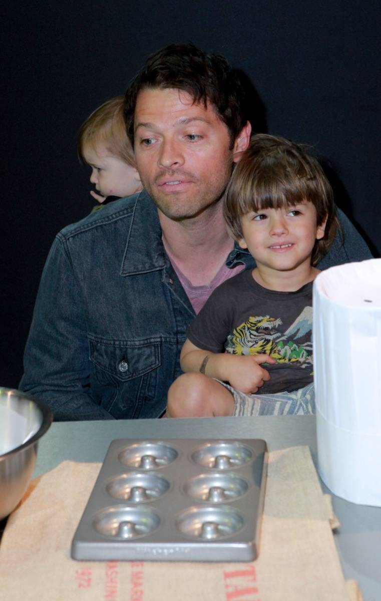 Actor Misha Collins at the All-Star Chef Classic - Savor The Season Presented By Melissa's Produce at L.A. LIVE