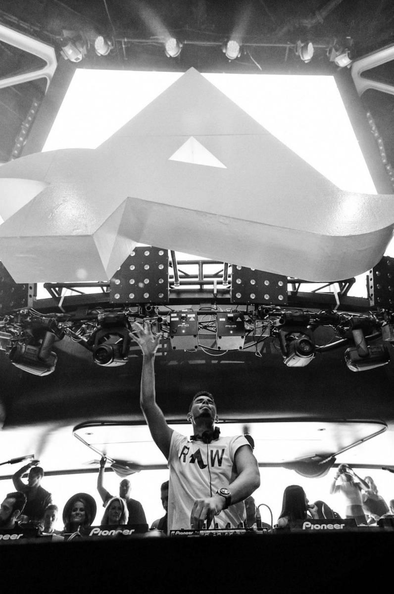 Afrojack_Hakkasan Las Vegas Nightclub