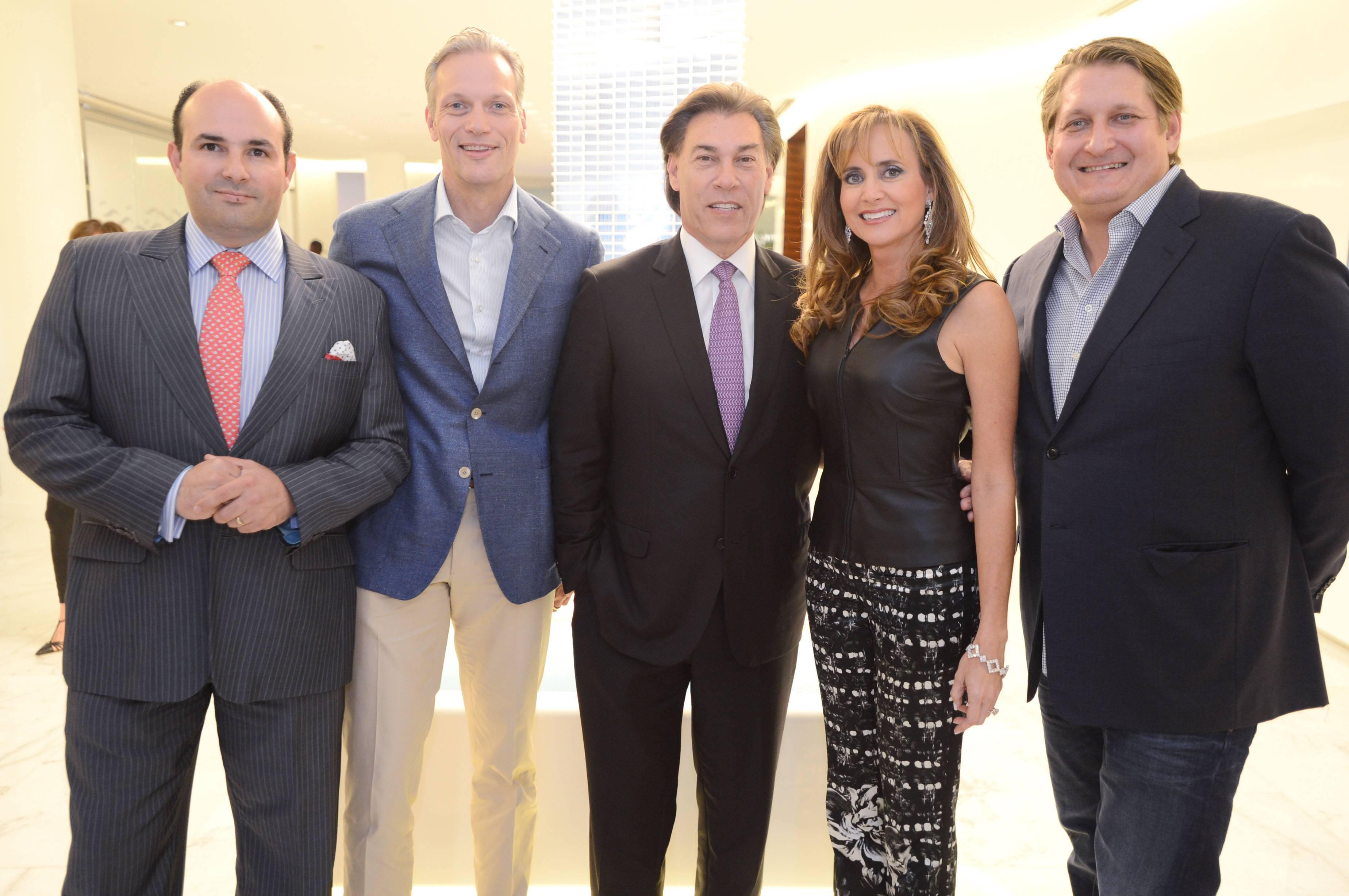 Alejandro Cuellar, Marc Hruschka, Edgardo Defortuna, Ana Cristina Defortuna, Courtland Lantaff