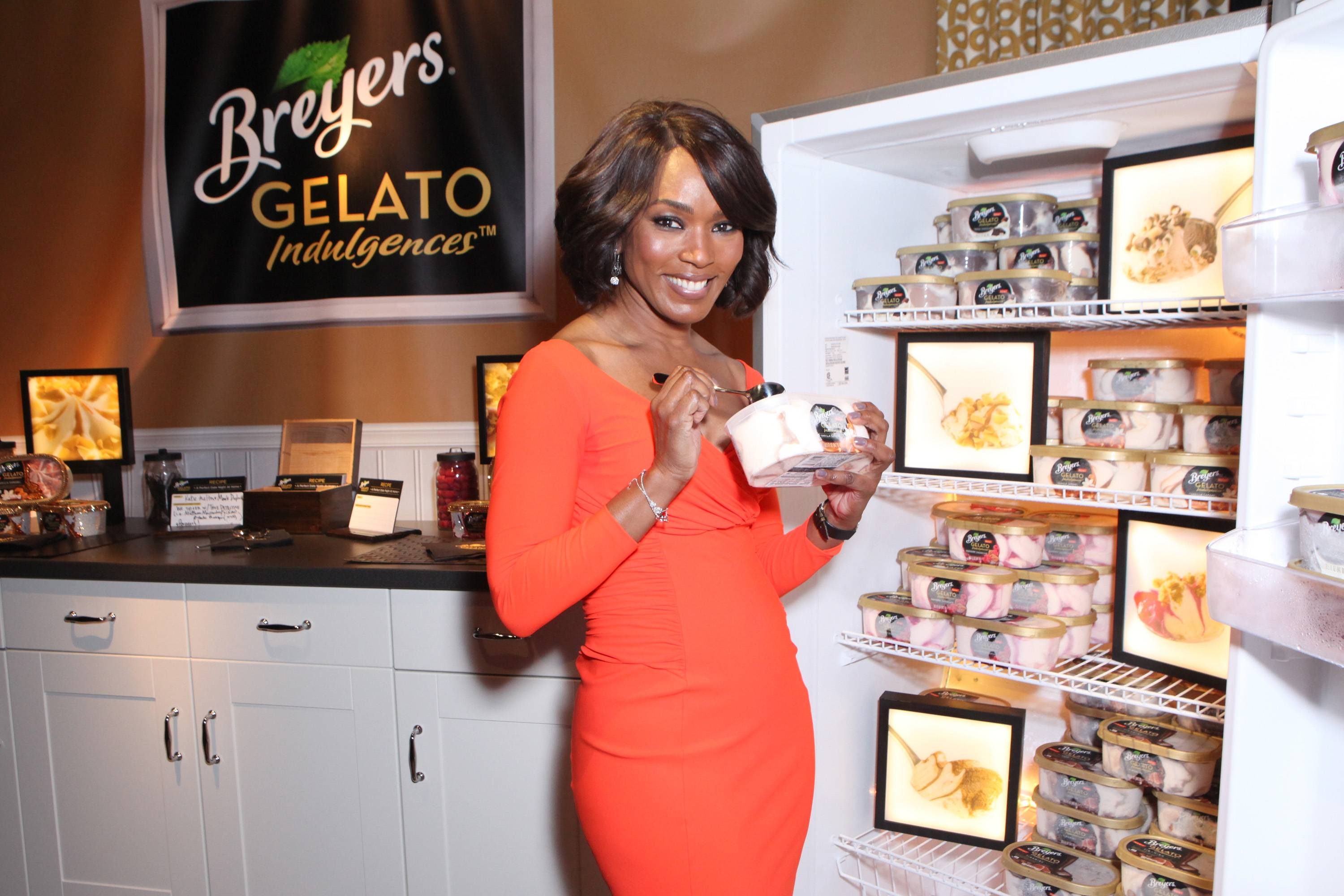 Breyers Gelato Indulgences In The Official Presenter Gift Lounge at The 2014 Film Independent Spirit Awards Produced by On 3 Productions