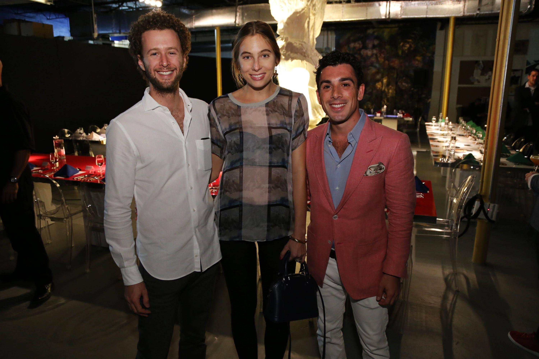 Benjamin Elias, Eliza Aho, & Chris DiSchino