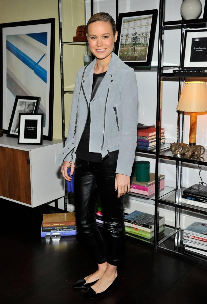 Brie Larson_Sandro Paris Celebration_3.20.2014