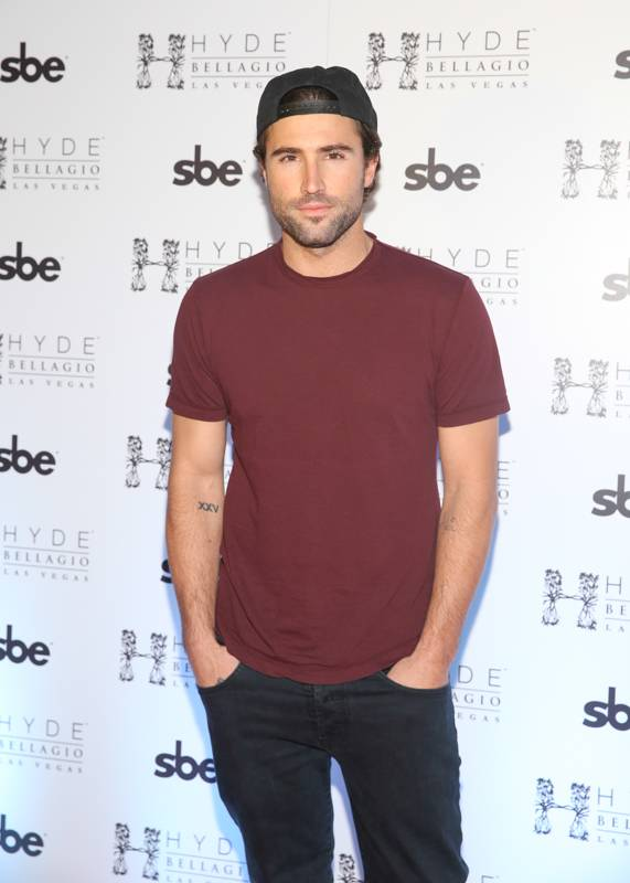 Brody Jenner on red carpet at Hyde Bellagio, Las Vegas, 3.22.14