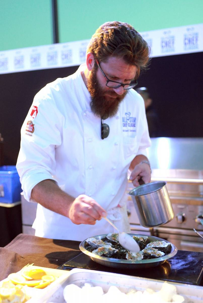 Chef Michael Cimarusti at L.A.Live's All-Star Chef Classic - Grill And Chill Presented By dineLA And Stella Artois_PhotoCredit_GettyImages