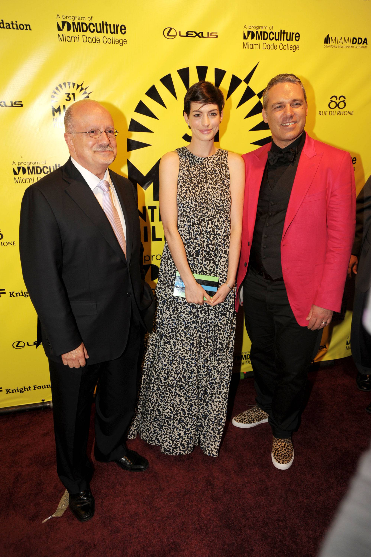 Eduardo Padron, Anne Hathaway, & Jaie Laplante3