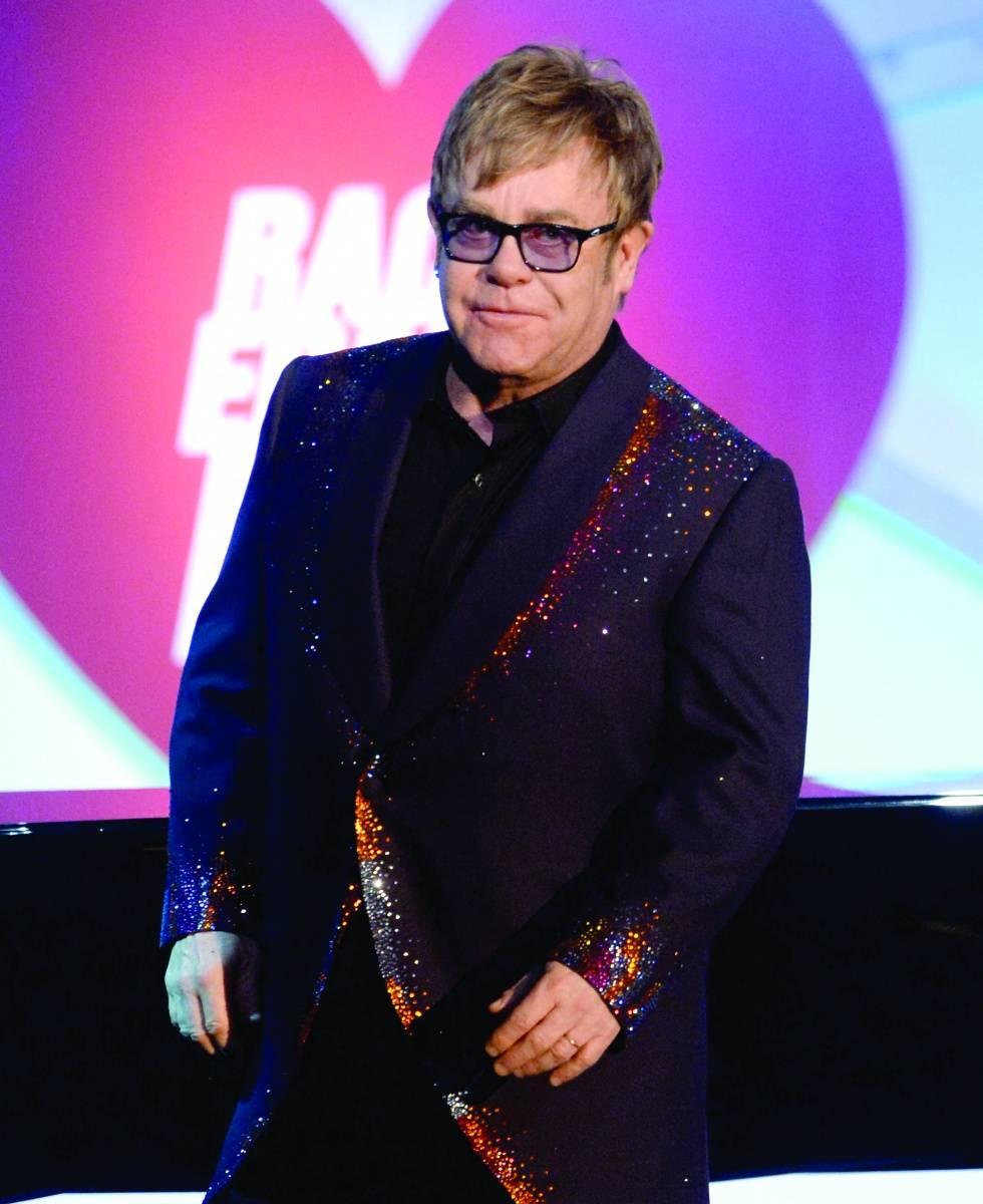 Elton John, credit WireImage