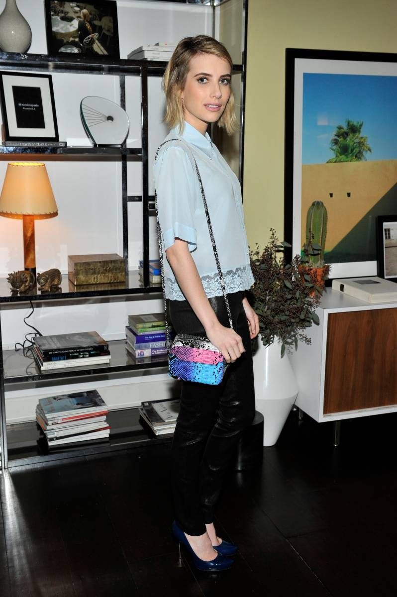 Emma Roberts_Sandro Paris Celebration_3.20.2014