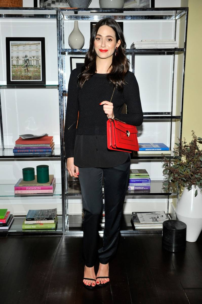 Emmy Rossum_Sandro Paris Celebration_3.20.2014
