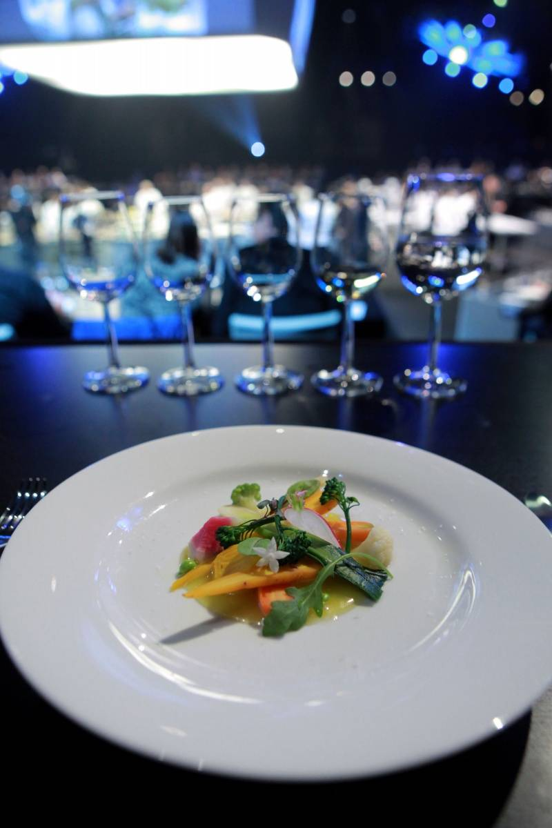 French Masters Dinner Presented by Fisher & Paykel Course 3_ at L.A. LIVE All-Star Chef Classic_PhotoCredit_GettyImages