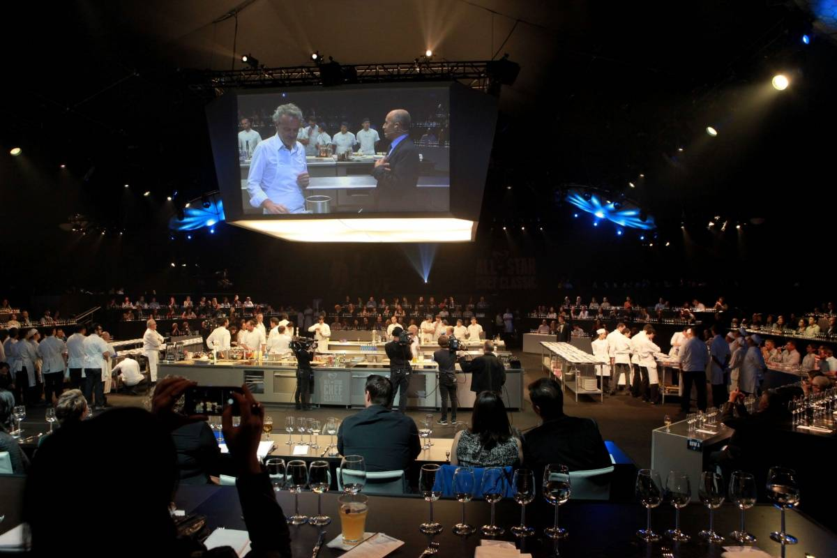 General Atmosphere 2 at L.A. LIVE All-Star Chef Classic French Masters Dinner Presented by Fisher & Paykel _PhotoCredit Getty Images
