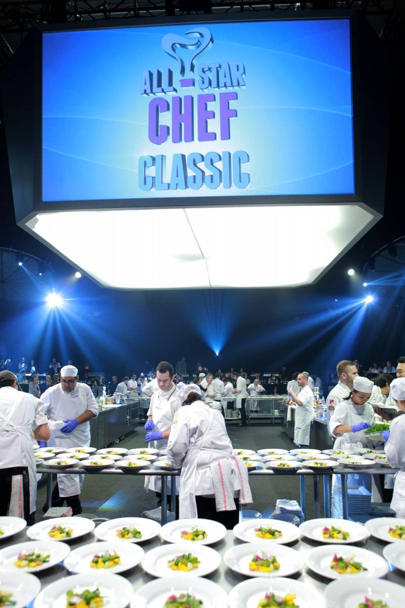 General Atmosphere 3 at L.A. LIVE All-Star Chef Classic French Masters Dinner Presented by Fisher & Paykel _PhotoCredit Getty Images
