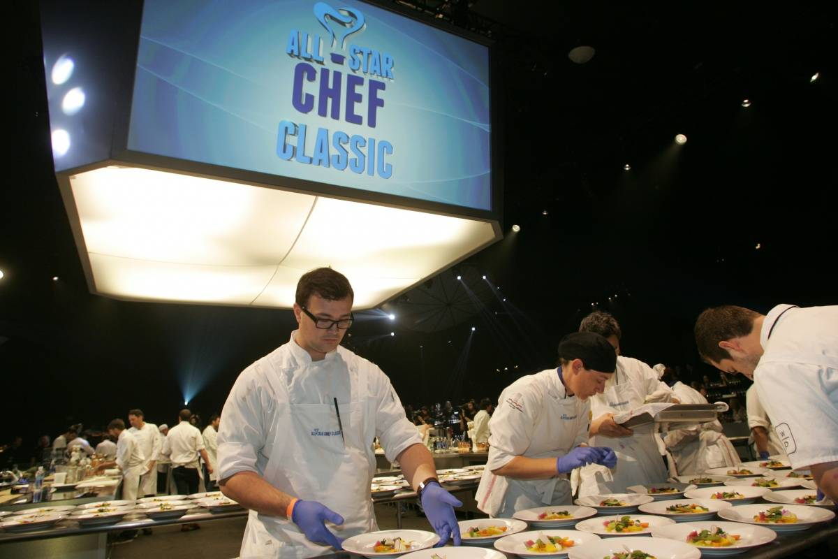 General Atmosphere at L.A. LIVE All-Star Chef Classic French Masters Dinner Presented by Fisher & Paykel _PhotoCreditAndrew Bernstein & Associates photography