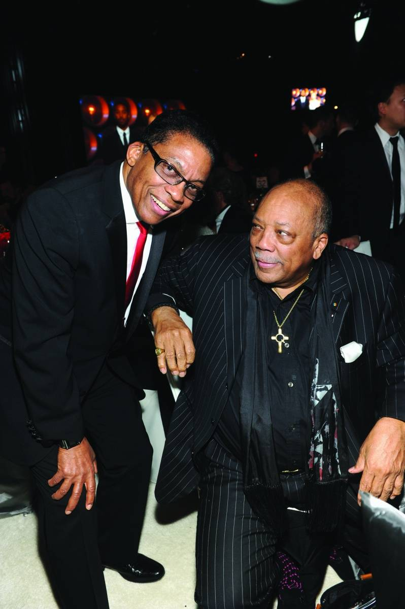 Herbie Hancock + Quincy Jones