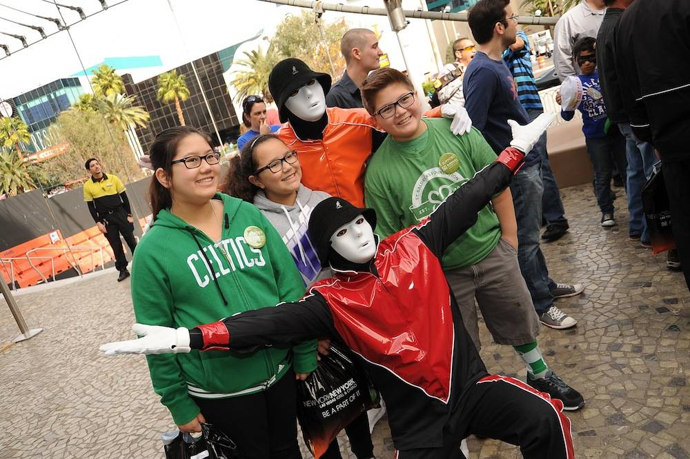 Jabbawockeez at New York-New York's Fifth Annual St. Baldrick's Day Fundraiser