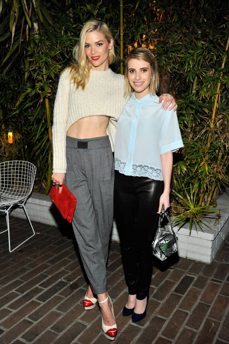 Jamie King & Emma Roberts_Sandro Paris Celebration_3.20.2014
