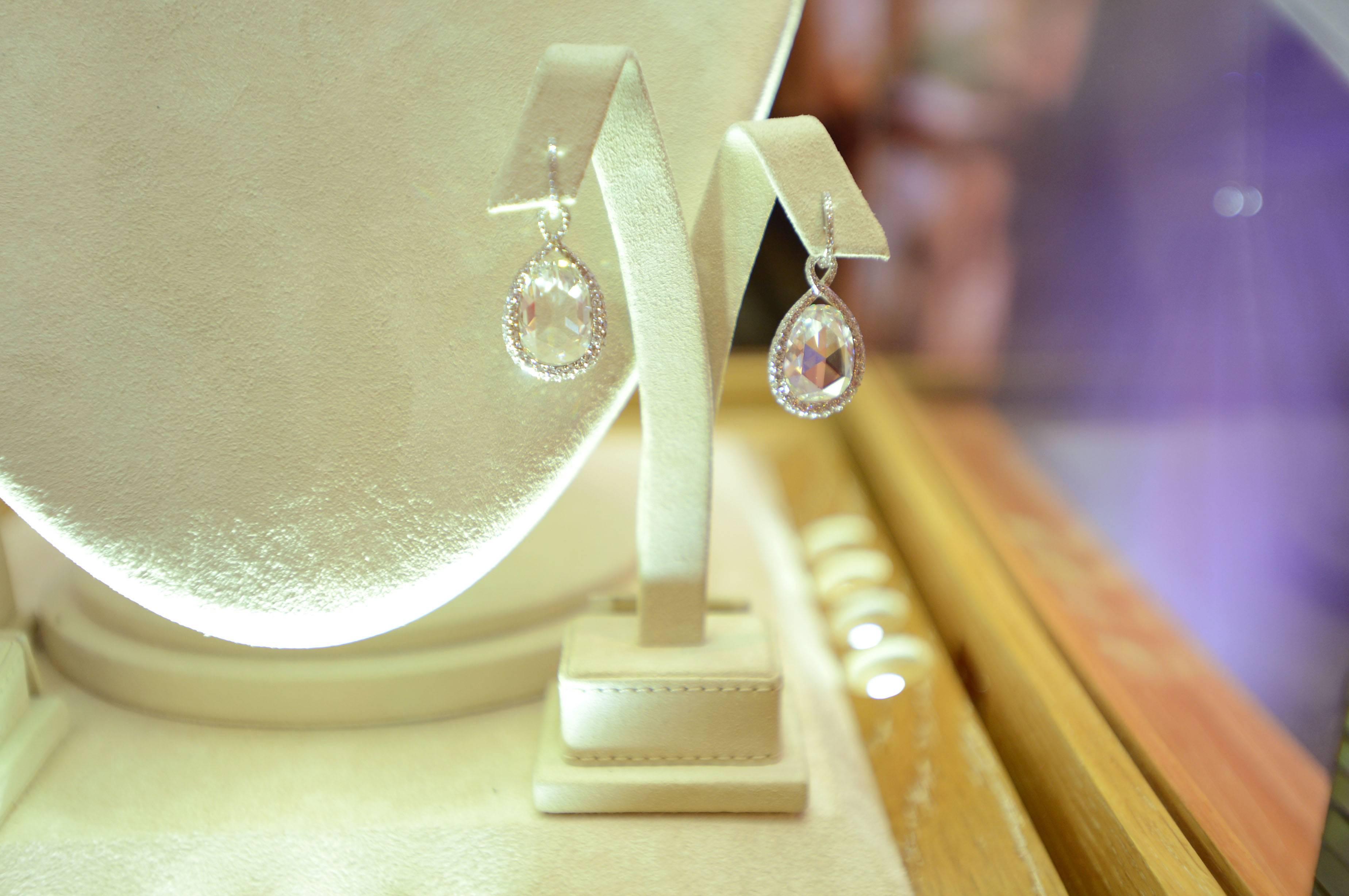 Jennifer Lawrence Earrings 2013 Oscars