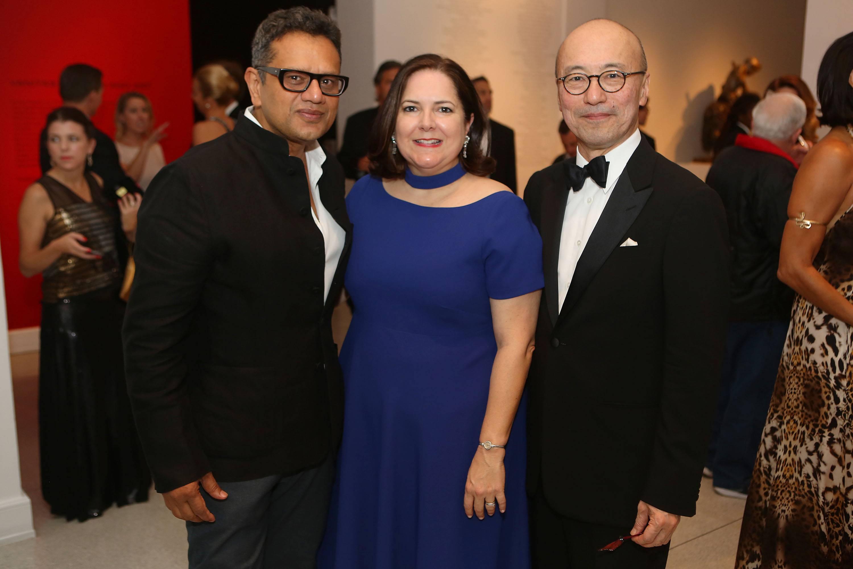 Naeem Khan, Silvia Cubina, & Harold Koda