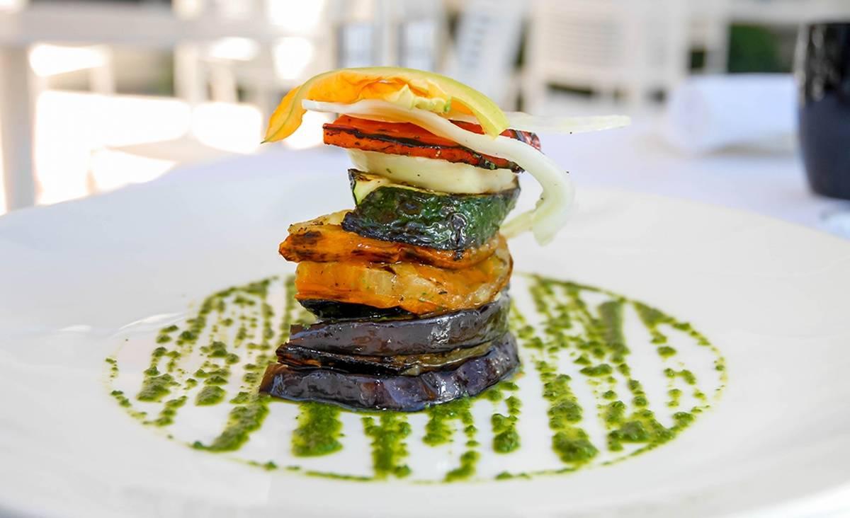 La Maison Miami_Mille Feuilles of Provencal Vegetables