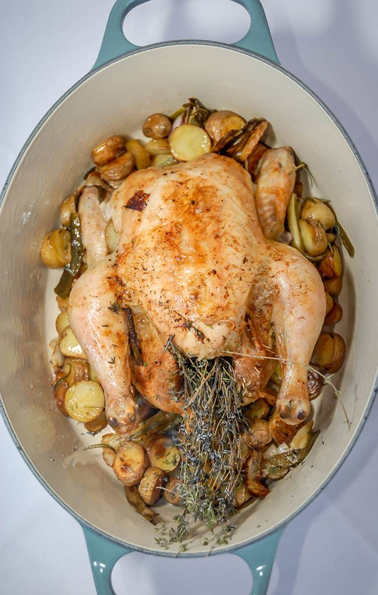 La Maison Miami_Whole Organic Roasted Chicken for Two
