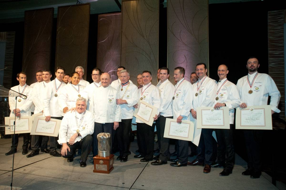 Maitres Cuisiniers de France Inductees 2014
