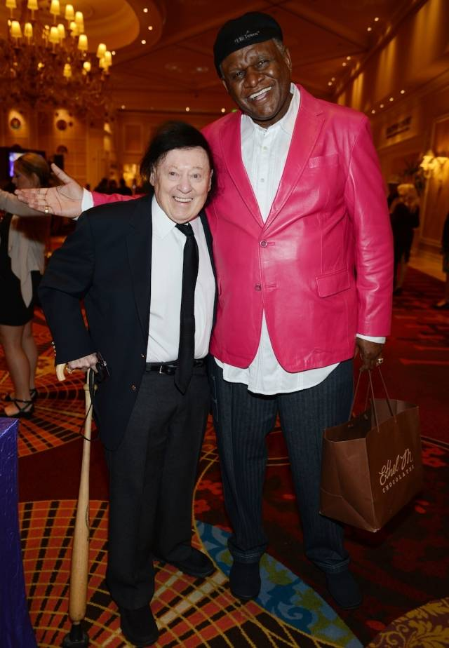 Marty Allen and George Wallace. Photos: Denise Truscello/WireImage