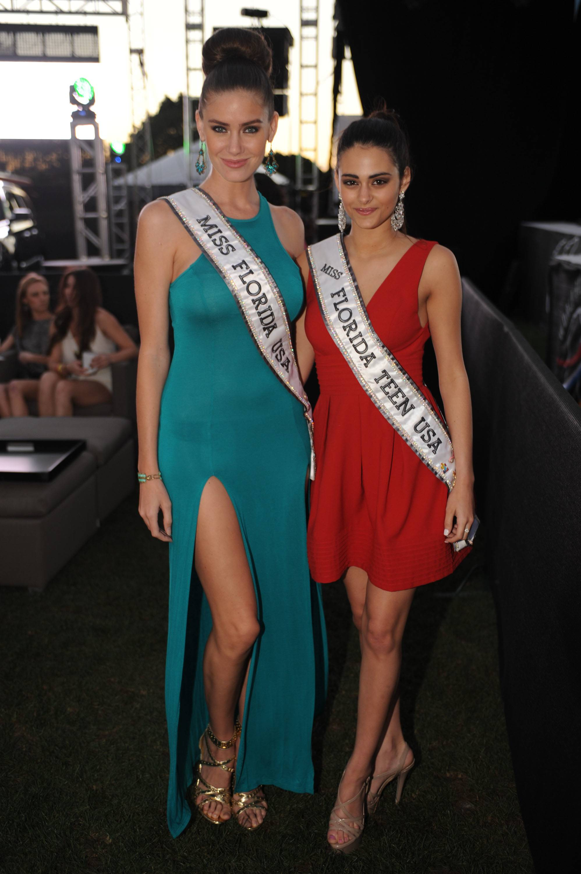 Miss Florida USA Brittany Oldehoff and Miss Florida Teen USA Natalie Fiallo