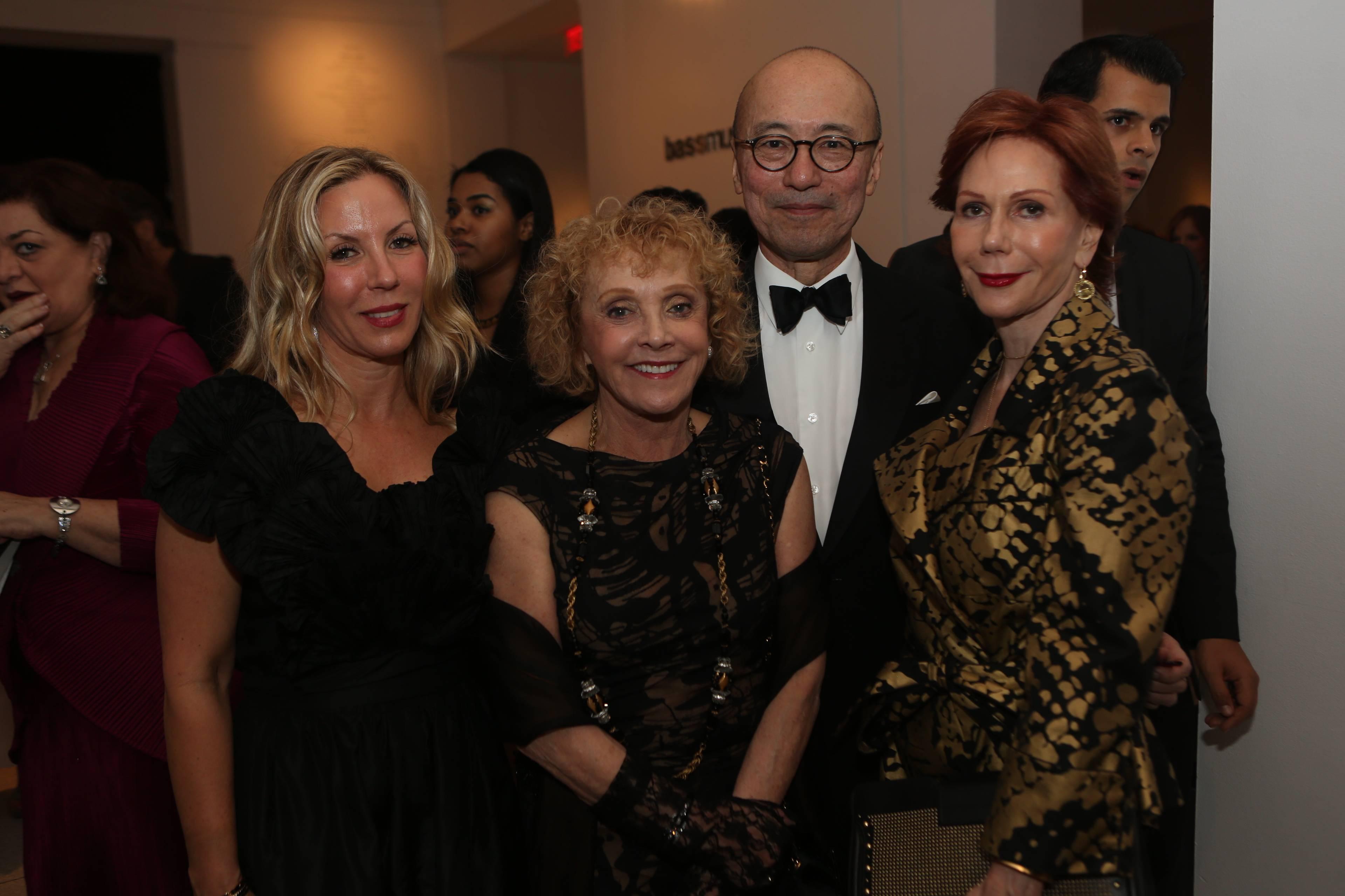 Jennifer Sazant, Sheila Elias Taplin, Harold Koda, & Cricket Taplin