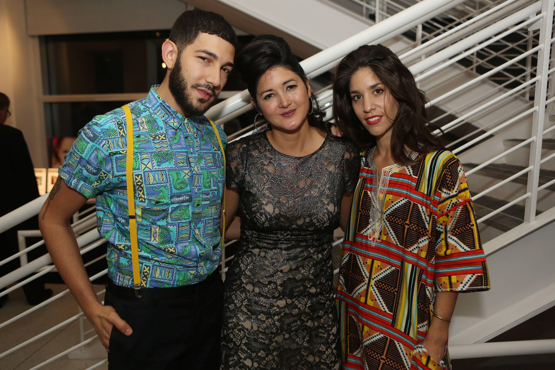 Anthony Spinello, Cristina Lei Rodriguez, & Agustina Woodgate