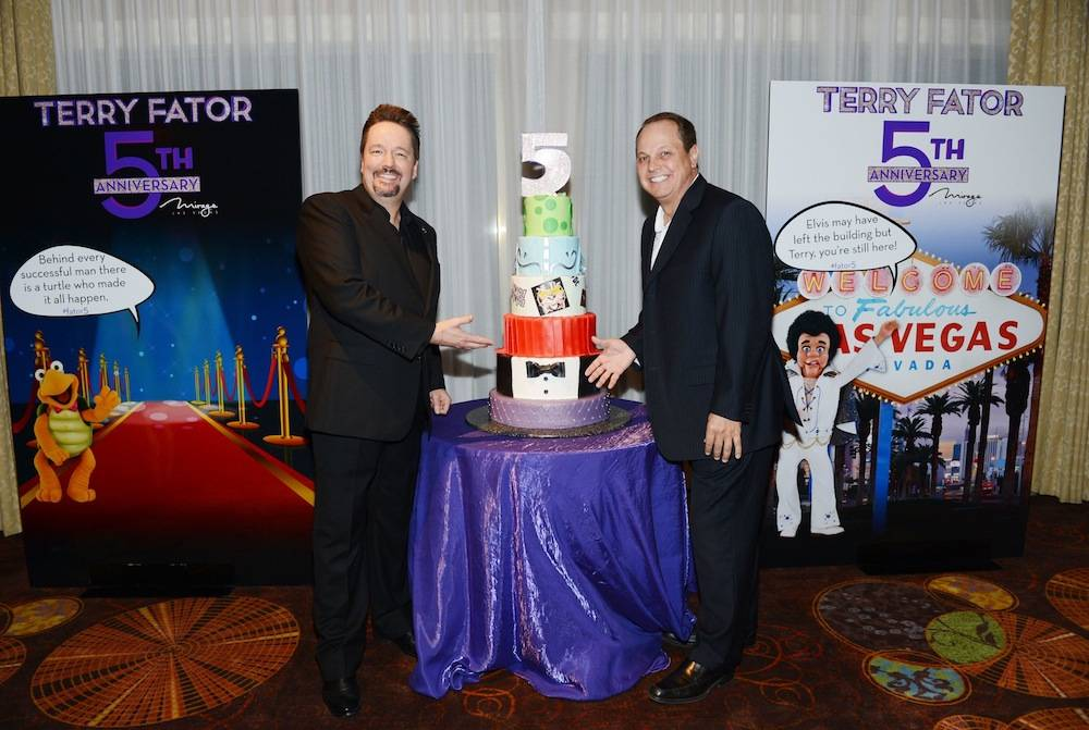Terry Fator 5 year anniversary Las Vegas Nevada USA March 7 2014   Photos By Denise Truscello